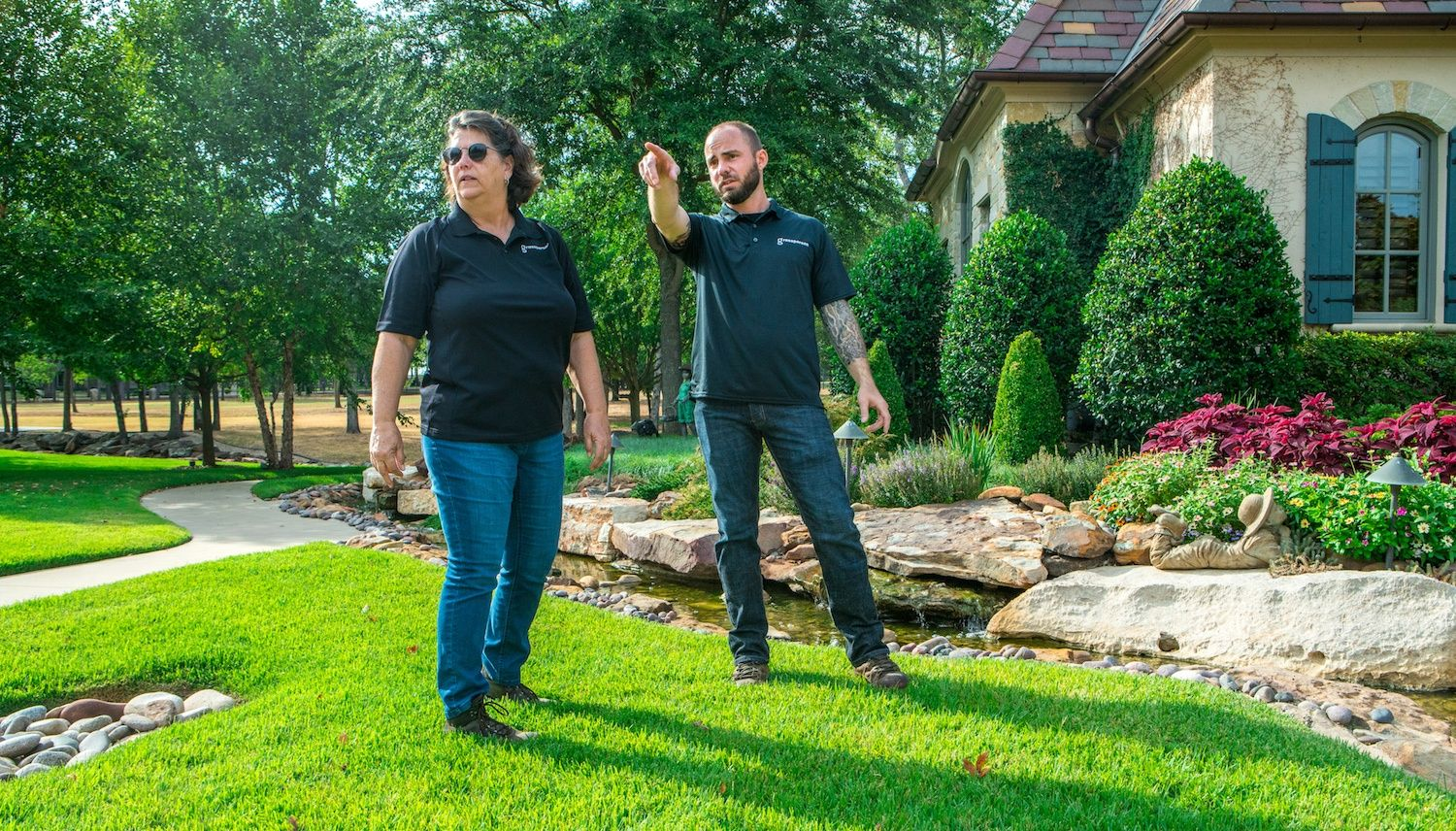 lawn care professionals looking for lawn disease