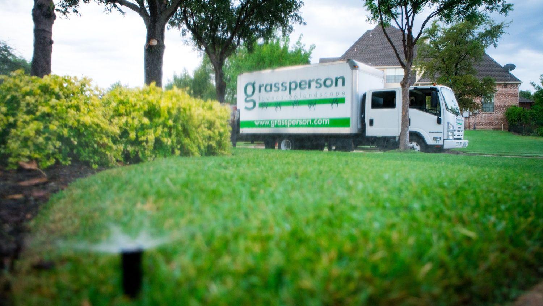 Lawn irrigation system maintained by Grassperson in Flower Mound, TX