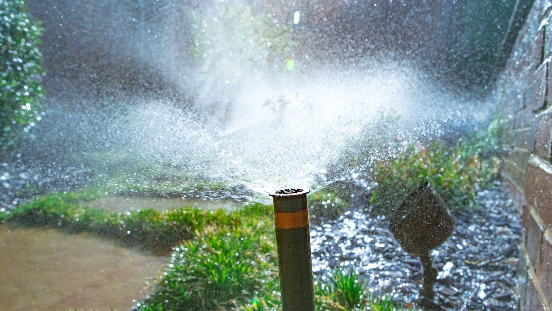 irrigation system sprinkler head