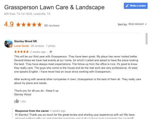 grassperson reviews