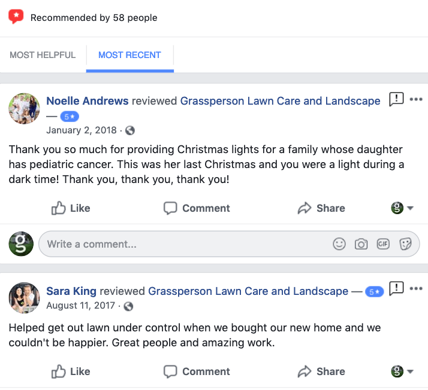 grassperson-facebook-reviews